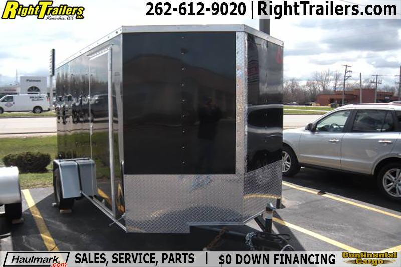 6x12 Haulmark | Enclosed Trailer [Black] in Ashburn, VA