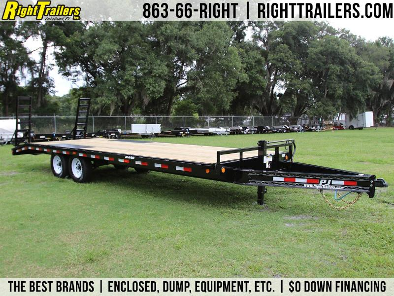 8x24 PJ Trailers | Deckover Equipment Trailer