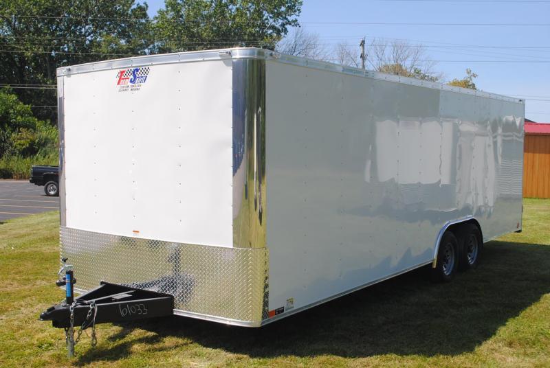 8.5x24 Team Spirit | Enclosed Trailer