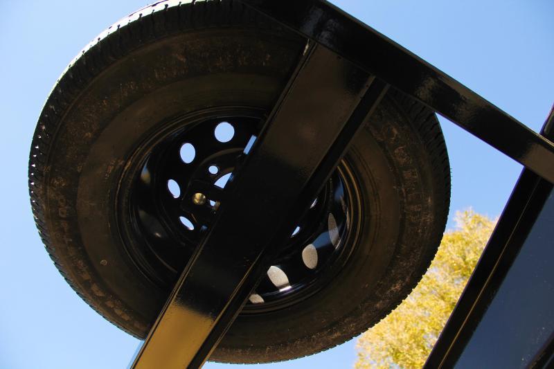 8.5x25 Big Tex Trailers Equipment Trailer [Gooseneck]