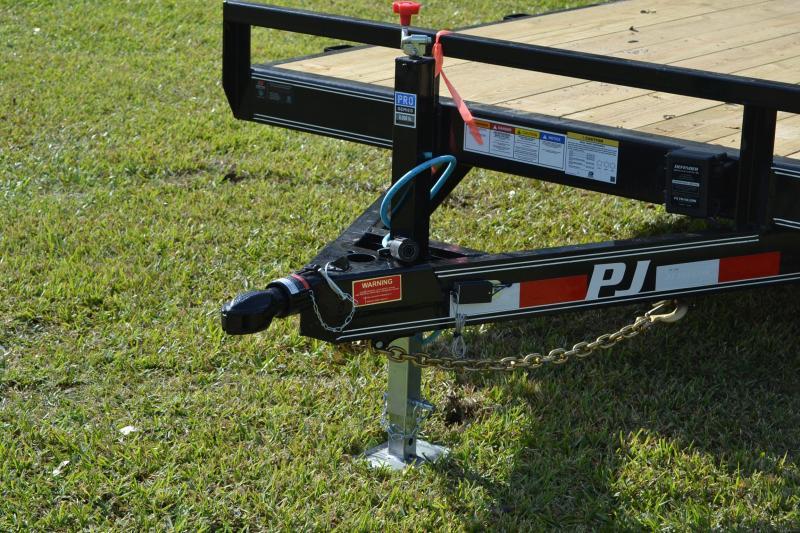 7x18 PJ Trailer   Equipment Trailer