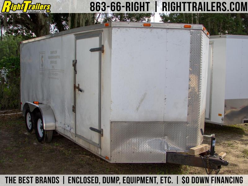 USED: 7x16 Cargo South | Enclosed Trailer