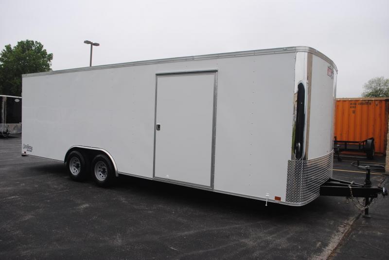 8.5x24 Team Spirit Custom Trailers   Enclosed Trailer