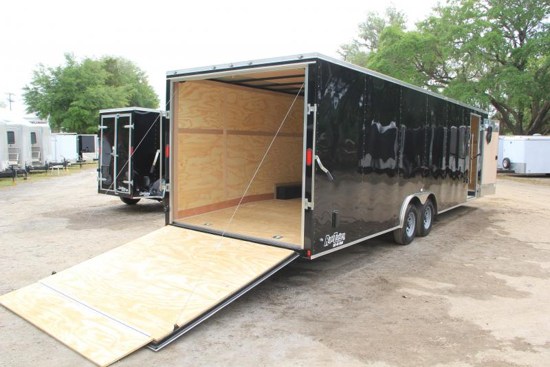 8.5x28 Continental Cargo | Enclosed Trailer [Black]
