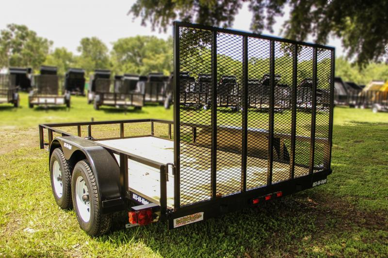 6x12 Red Hot Trailers   Utility Trailer [Tandem Axle]