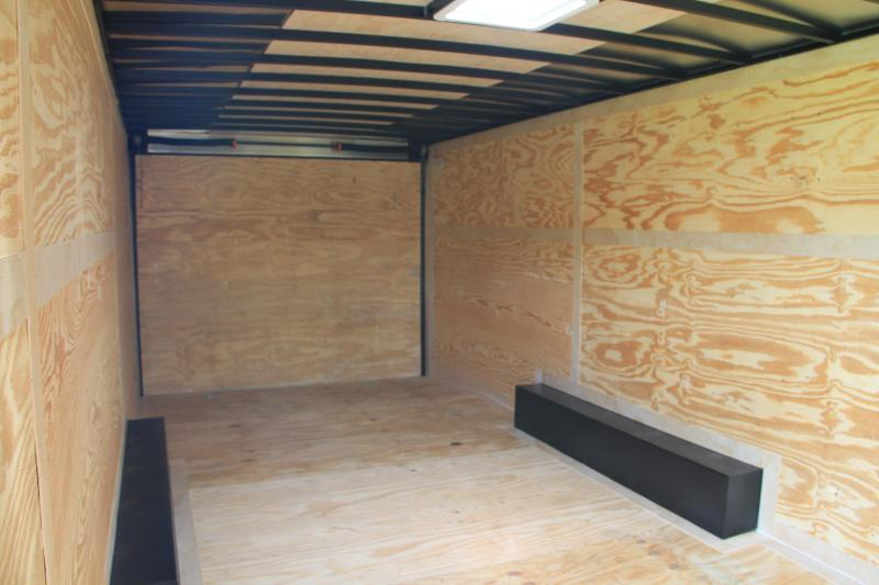 8.5x24 Pace American | Enclosed Trailer