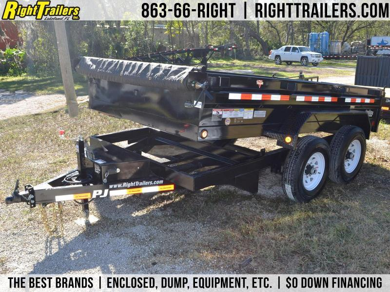 USED: 6.5x12 PJ Trailers | Dump Trailer in Ashburn, VA