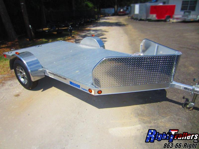 CLOSEOUT: 6.5x10 Mission | Motorcycle Trailer in Ashburn, VA