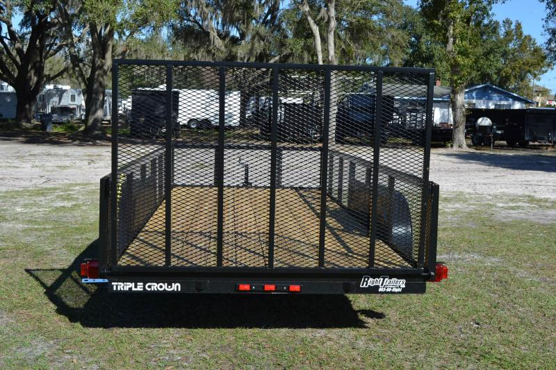 6x16 Red Hot Trailer   Utility Trailer