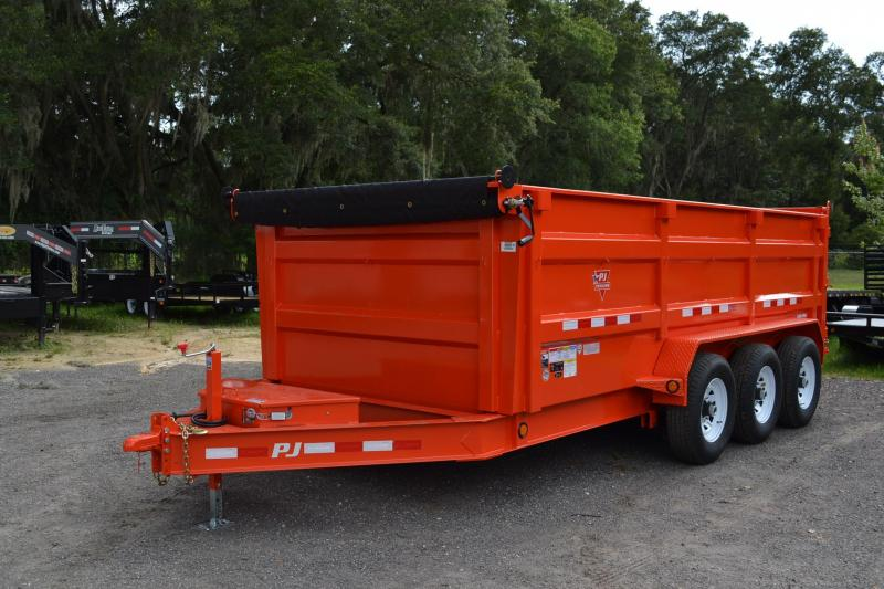7x16 PJ Trailers | Dump Trailer [High Sides] in Ashburn, VA