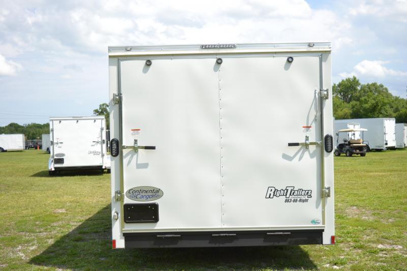 8.5x20 Continental Cargo | Enclosed Trailer