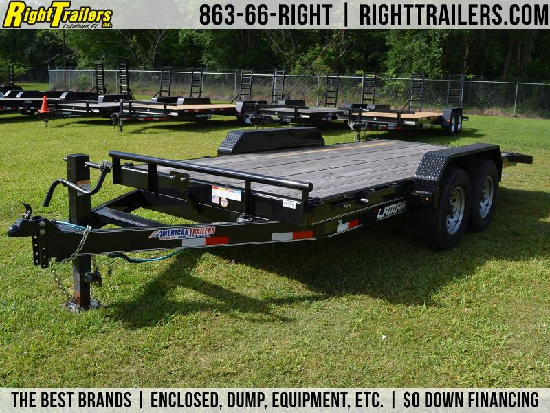 7x16 Lamar Trailers | Car Hauler Tilt Trailer
