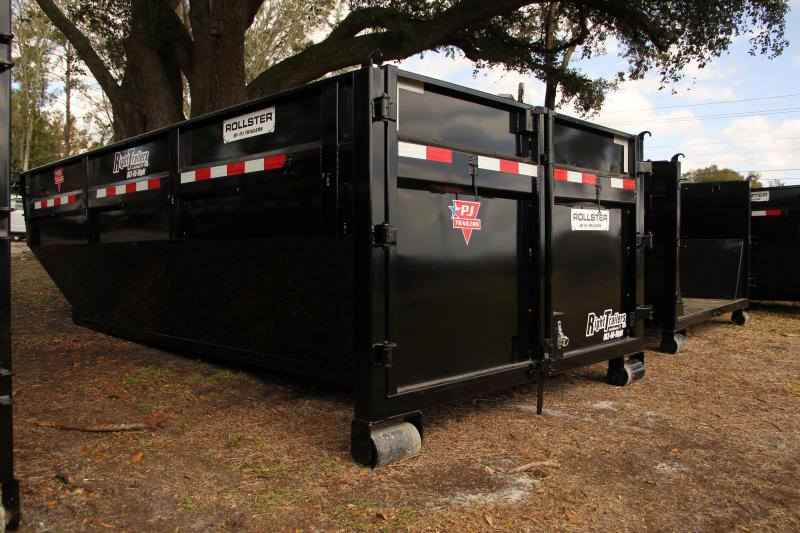 7x14x4 PJ Trailers Dump Bin Dump Trailer