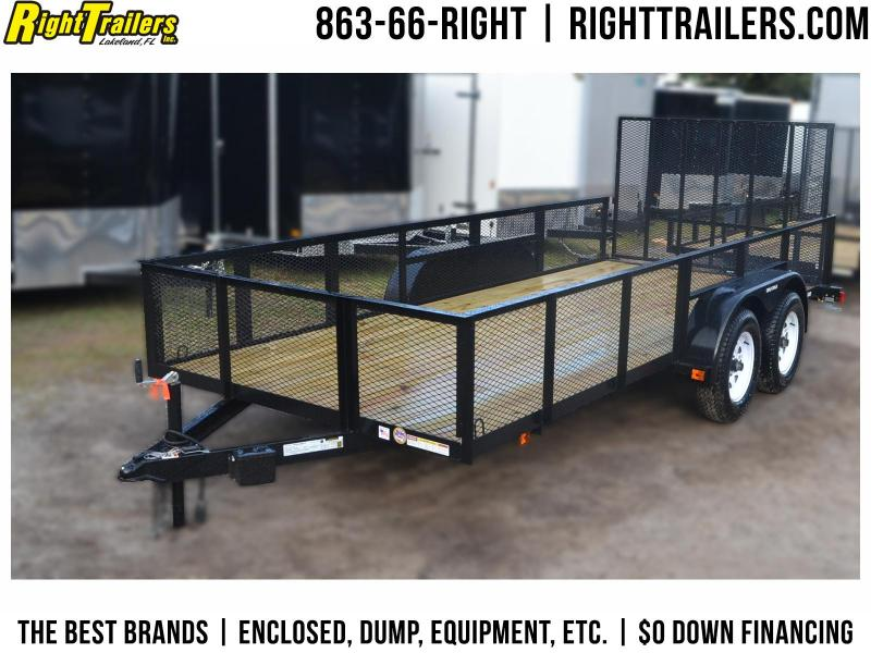 6x16 Red Hot Trailers | Utility Trailer [2' Mesh Sides] in Ashburn, VA