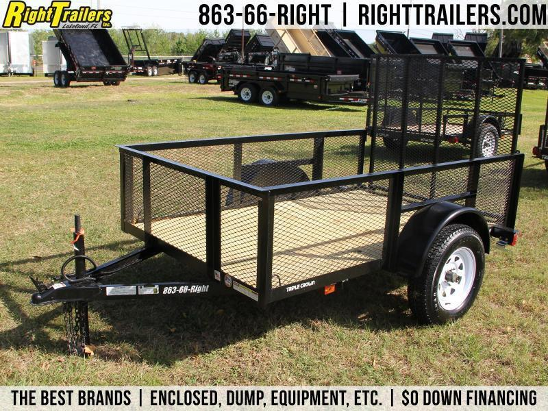 5x8 Red Hot Trailers | Utility Trailer [High-Sides]