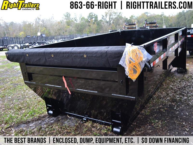 7x14x4 PJ Trailers   Rolloff Dumpster