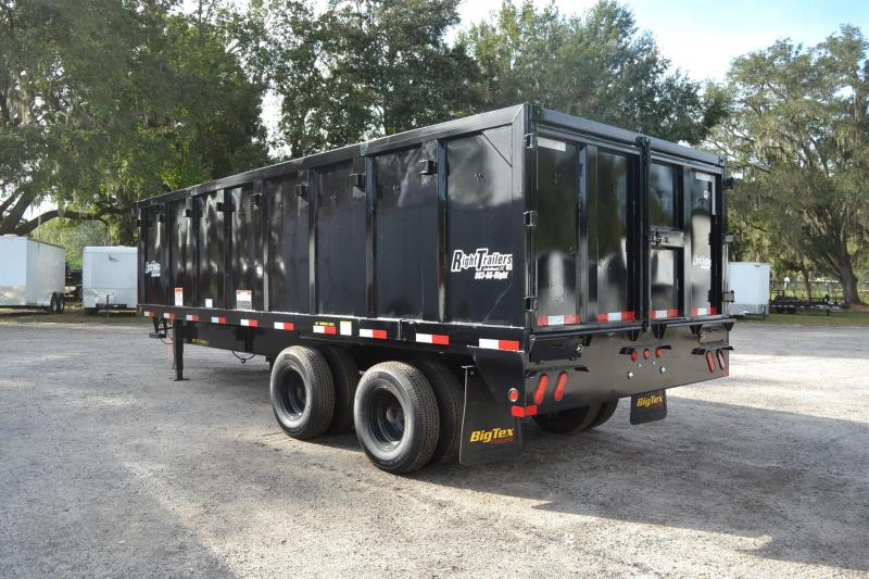 8x20 Big Tex Trailers   Dump Trailer
