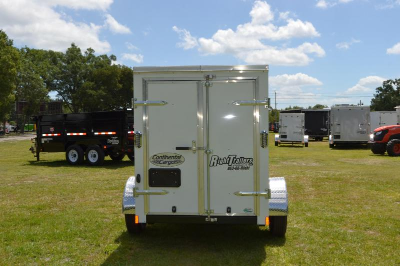 5x8 Continental Cargo | Enclosed Trailer