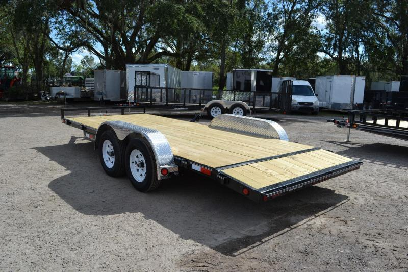 7x20 PJ Trailers | Open Car Hauler