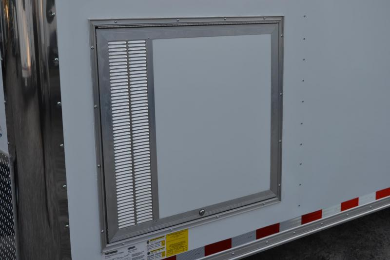 8.5x28 Continental Cargo | Enclosed Racing Trailer