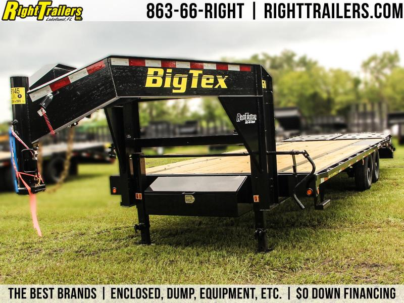 8.5x25 Big Tex Trailers | Equipment Trailer