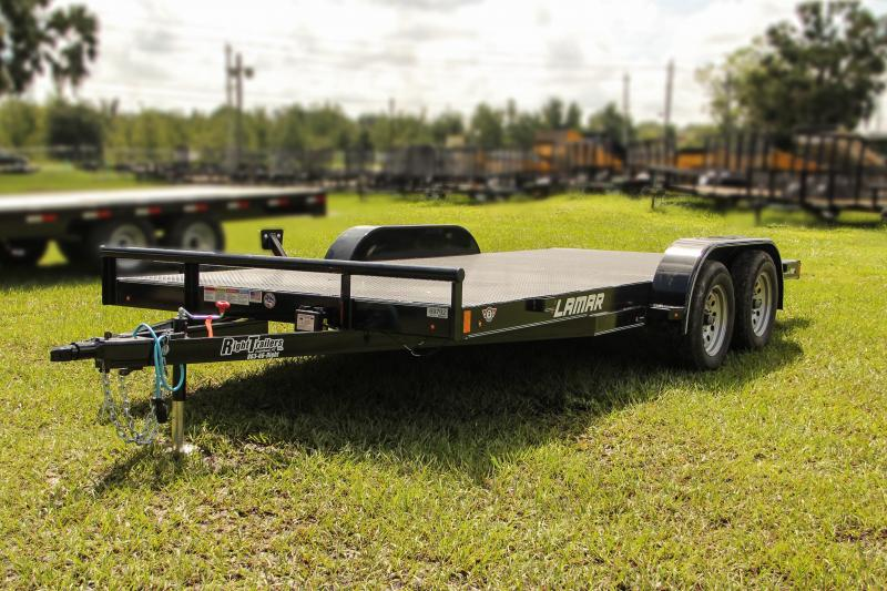 7x16 Lamar Trailers | Car Hauler