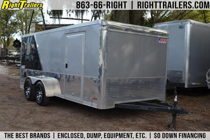 2015 7x16 Pace American | Enclosed Trailer [Motorcycle] in FL