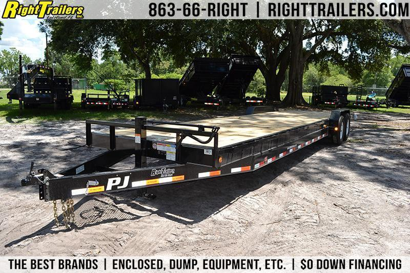 7x32 PJ Trailers | Equipment Trailer