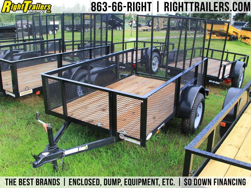 USED: 5x8 Red Hot Trailers | Utility Trailer