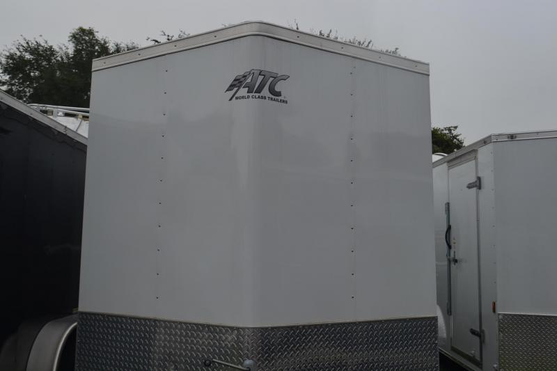 2015 USED 7x14 ATC | Enclosed Trailer