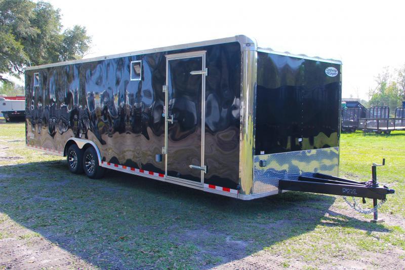 8.5x28 Continental Cargo | Enclosed Race Trailer