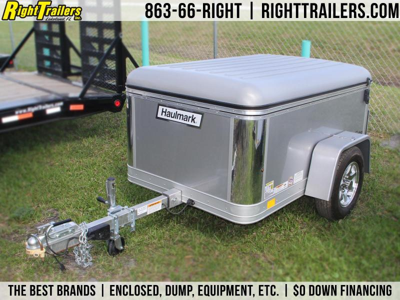 USED: 4x6 Haulmark Flex | Enclosed Trailer