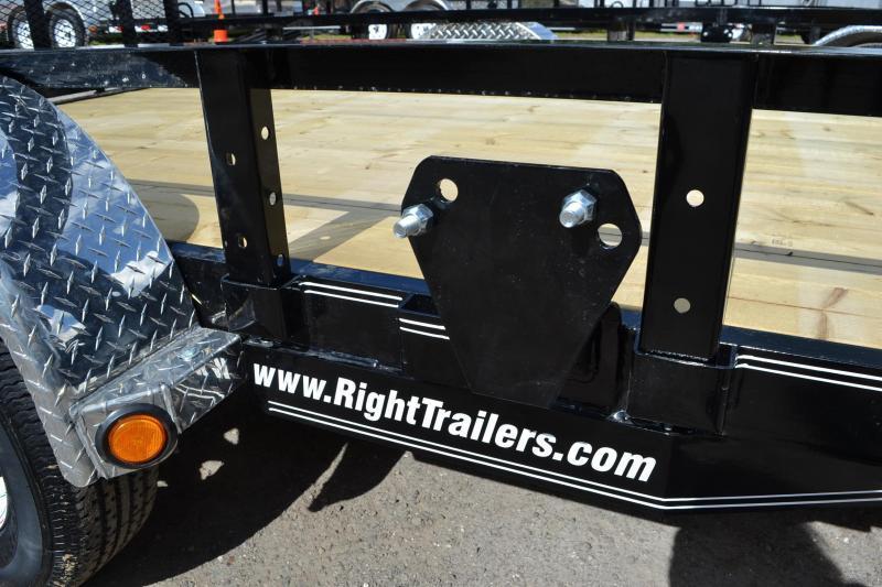 6.5x12 PJ Trailers   Utility Trailer