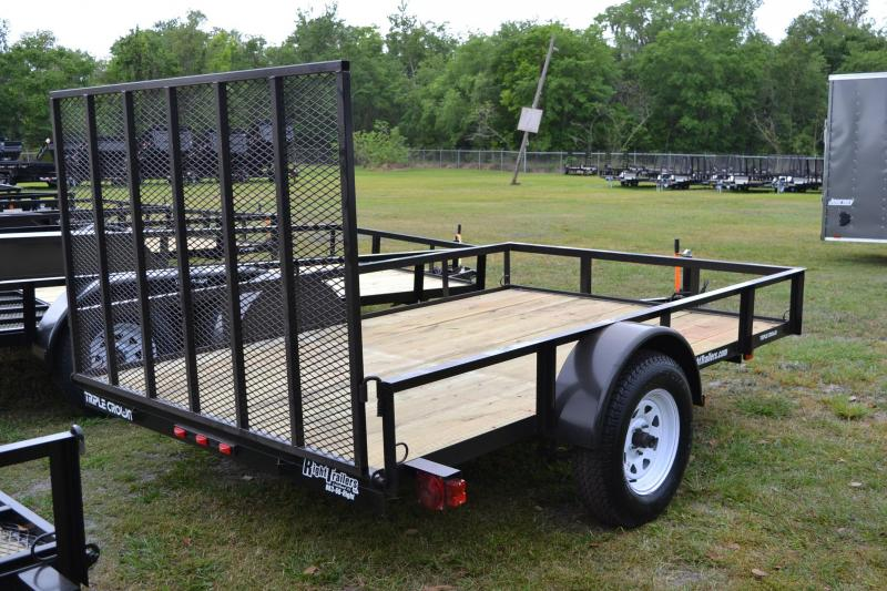 6x10 Red Hot Trailers | Utility Trailer