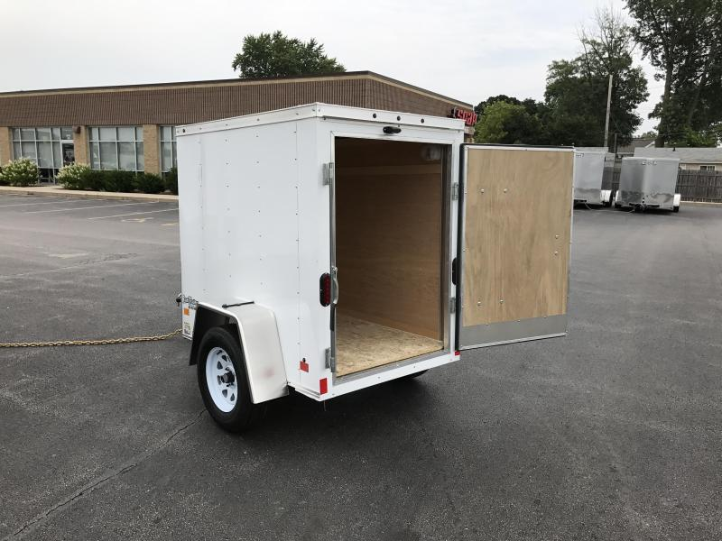 4x6 Enclosed Trailer >> 4x6 Haulmark Enclosed Trailer Right Trailers New And Used