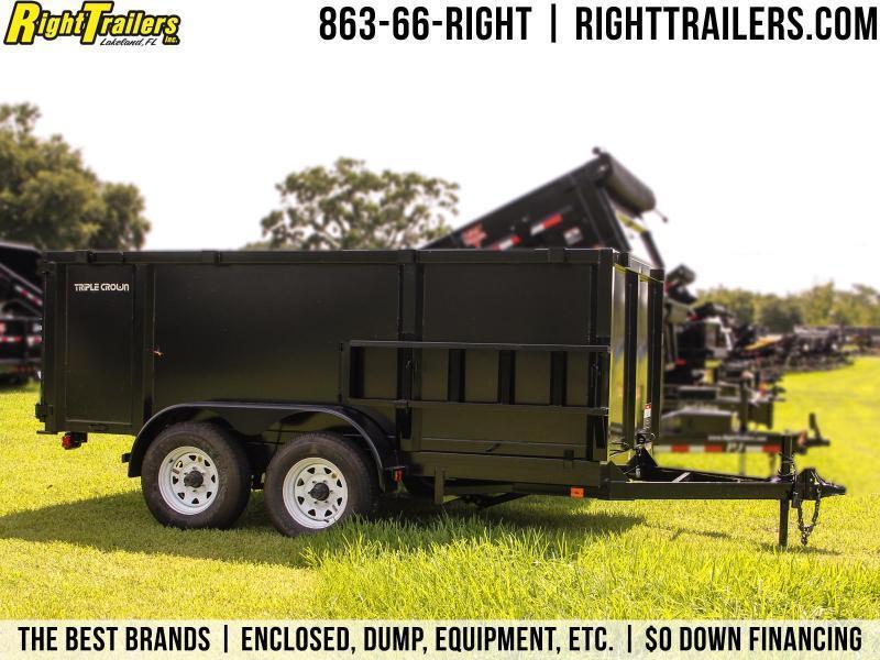 6x12x4 Red Hot Trailers | Dump Trailer in Ashburn, VA
