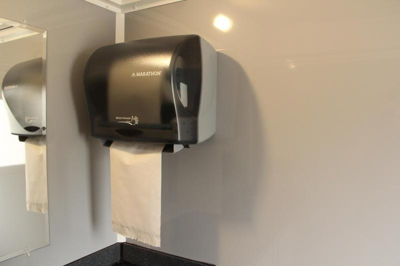 3 Station Restroom Trailer