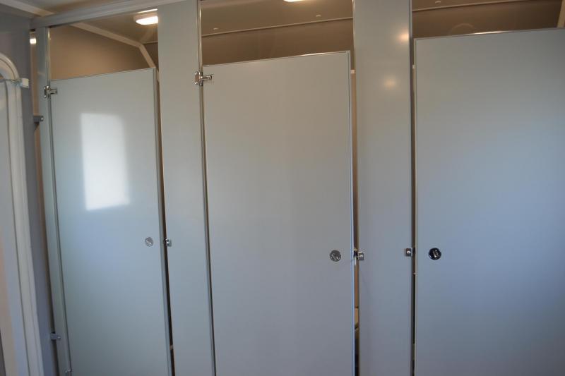 10 Station Restroom Trailer (Rental)