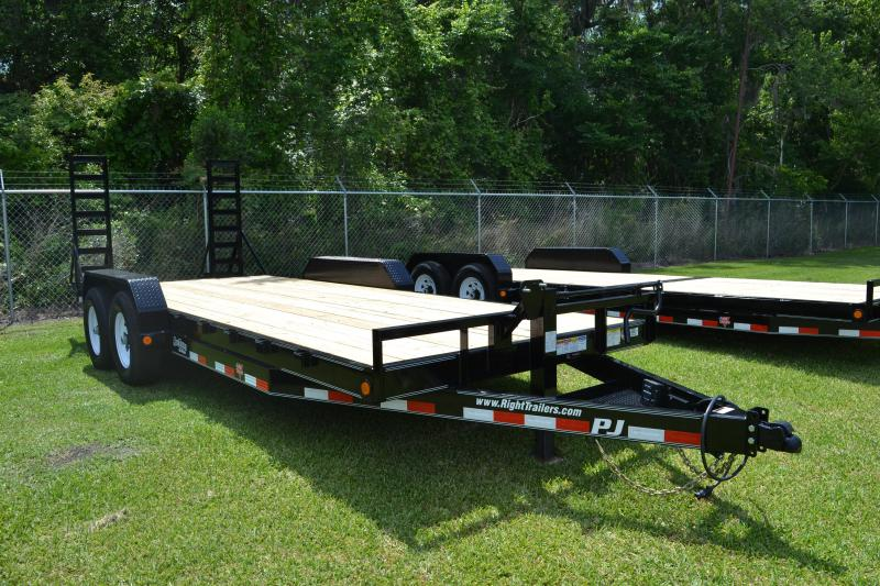 7x20 PJ Trailers | Car Hauler Trailer