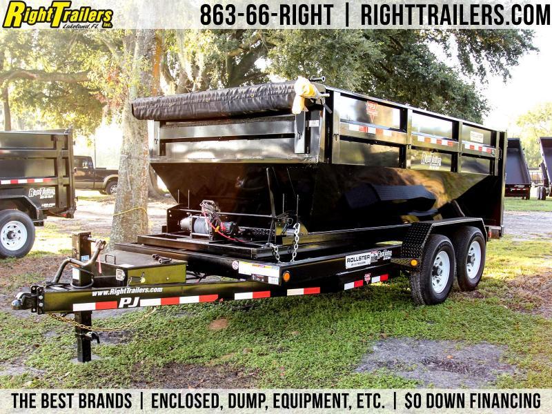 7x14x4 Rolloff Dumpster Trailer | Dump Trailer