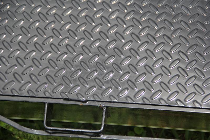 7x20 Lamar Trailers   Open Car Hauler [Steel Deck]