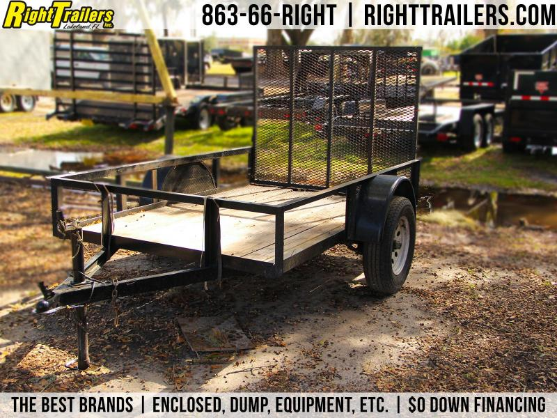 USED 5x8 Red Hot Trailers | Utility Trailer