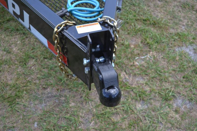 7x28 PJ Trailers | Equipment Trailer