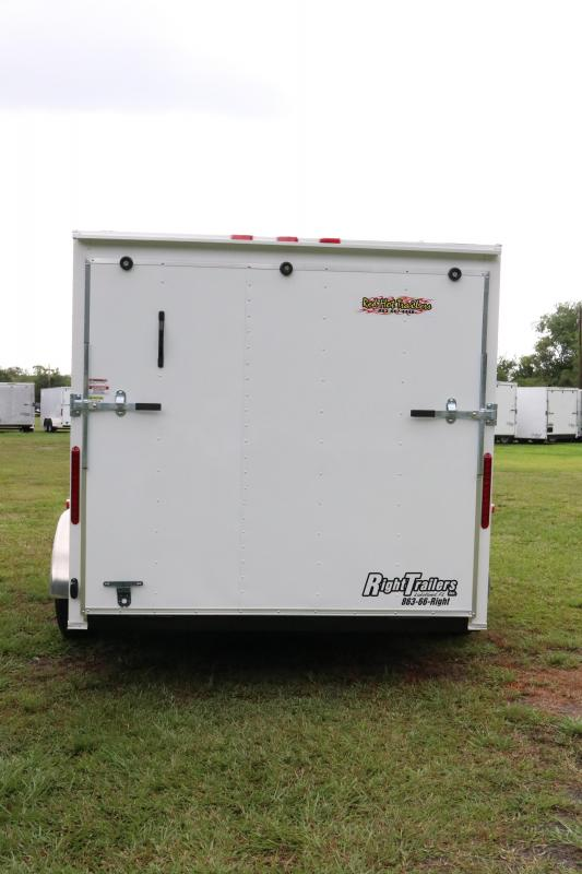 7x14 Red Hot Trailers | Enclosed Trailer