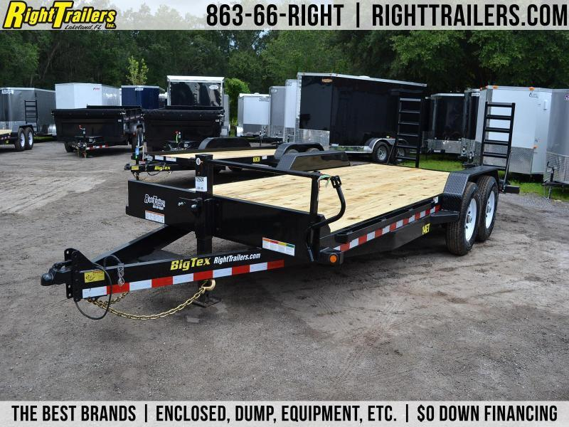 7x20 Big Tex Trailers [14-ET20] | Equipment Trailer