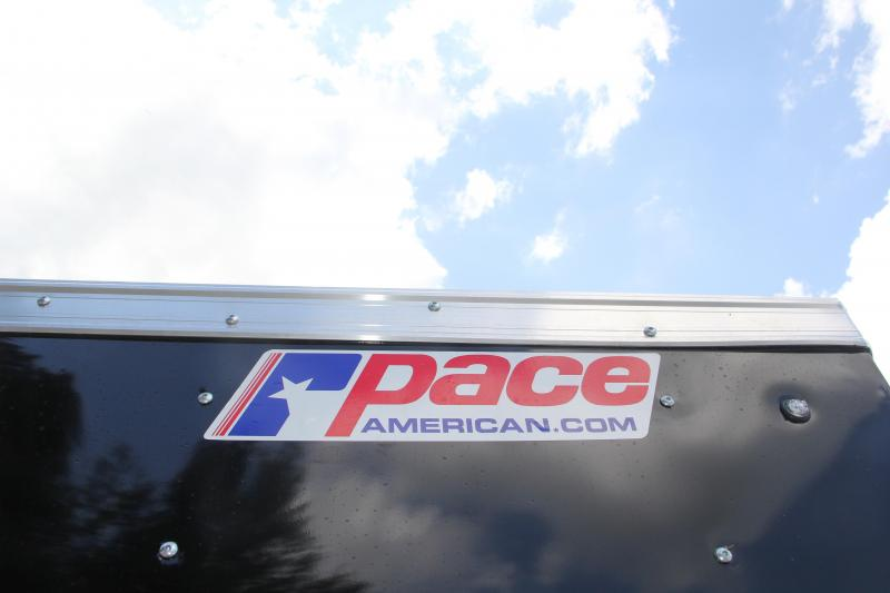 6x14 Pace American | Enclosed Trailer [Black]