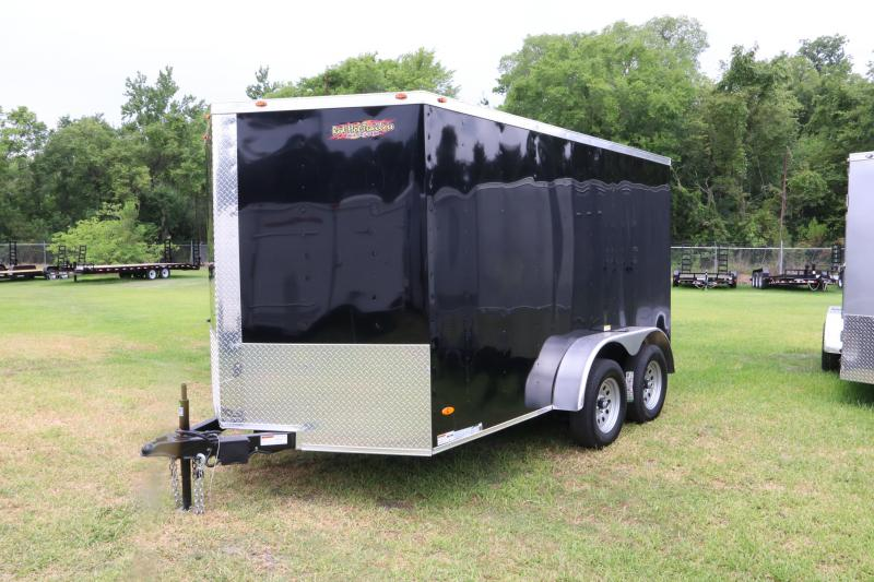 7x12 Red Hot Trailers | Enclosed Trailer
