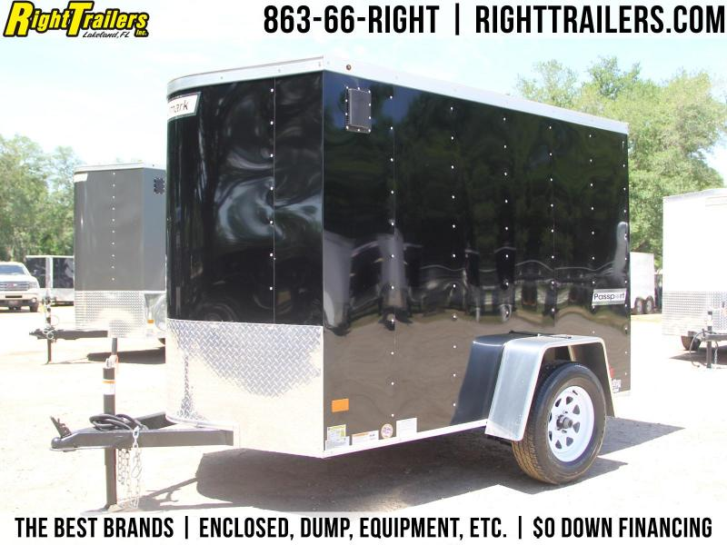 5x8 Haulmark Passport | Enclosed Trailer [Black]