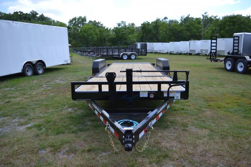 7x22 PJ Trailers | Equipment Tilt Deck Trailer