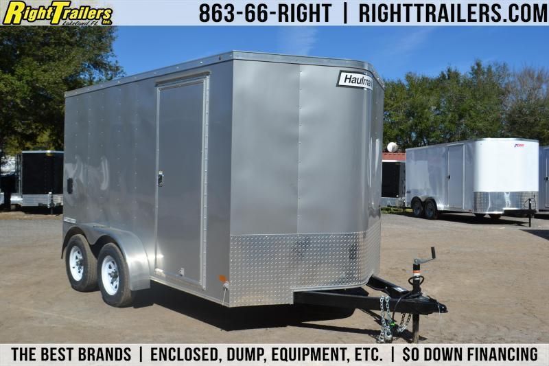 Haulmark 7x12 Barn Doors 7x12 Haulmark Enclosed Trailer
